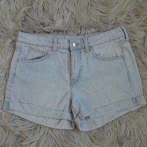 Light Blue Jean Shorts